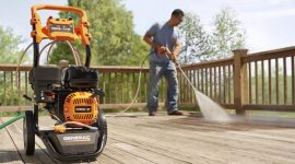 How to Maintain a Pressure Washer